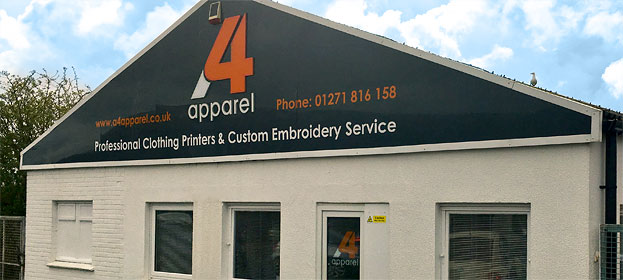 A4 Apparel factory picture