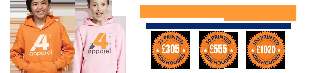 Special offers on the Gildan Kids Heavy Blend™ Hooded Sweatshirt
