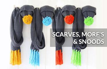 Scarves, Morf's & Snoods