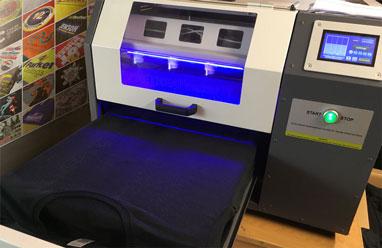 Pre-treat machine used to spray pretreat on clothing