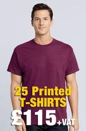 25 x Gildan Heavy Cotton™ T-Shirts Deal
