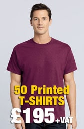 50 x Gildan Heavy Cotton™ T-Shirts Deal