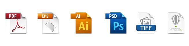 artwork file types